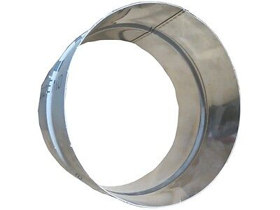 Connector/Nipple 315 mm Stainless Steel Spiral Ducts