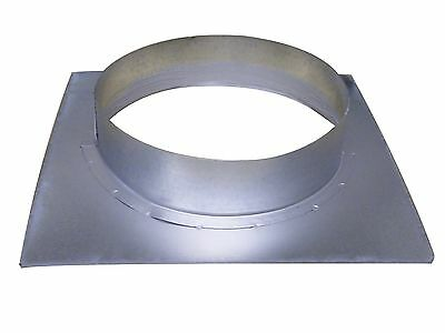 Wall Flange 125 mm Board 180 mm x 180 MM SPIRAL Ducts