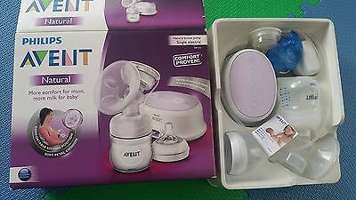 Philips Avent Natural Breast Pump Single Electric hardly used twice