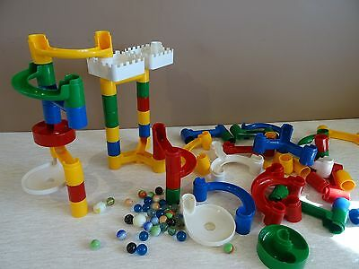 Build, Play & Learn Marble Run with marbles