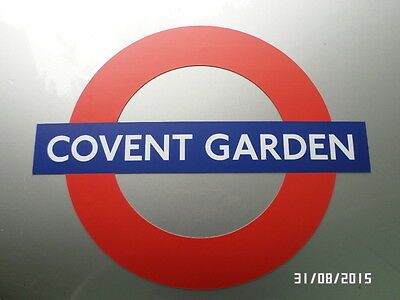 London Underground Magnetic Sign