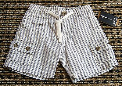 Fred Bare Baby Boys Striped Shorts Sz 00 New With Tags