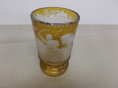 German Biedermayer Baron Trenk Glass cca.1850/60.