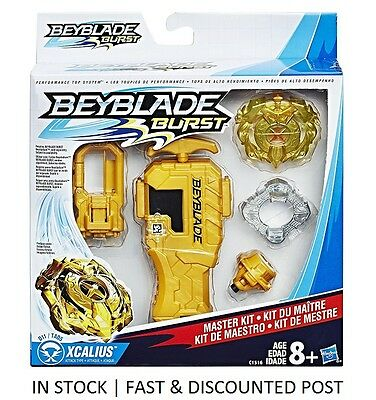 Beyblade Burst MASTER KIT with XCALIUS - starter - HASBRO TOP TIER - *Latest*