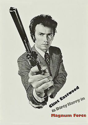 Magnum Force (1973) - A2 POSTER ***LATEST BUY 1 GET 1 FREE OFFER***