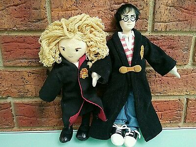 Harry Potter And Hermione Granger Plush Toys Wizard Movie Characters