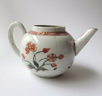 Chinese porcelain tea pot, 18thC
