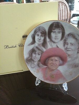 30 X Queen Mother New Collectors Plates.boxed Ltd Edition. Gold Rim.