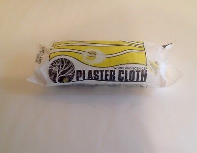 "Woodland Scenics C1203 Plaster Cloth Roll - 8"" X 5 YDS. Approx. 10 Sq Ft"
