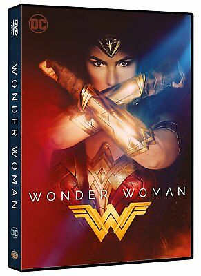 WONDER WOMAN - IL FILM (DVD) Warner Bros con Gal Gadot