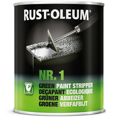 750ml Rust-Oleum Nr.1 Green Paint Stripper In Minutes Removes Glue 99% Bio
