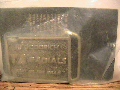 """Brand New Promotional Bfg Ta Radials """"take On The Road"""" Belt Buckle"""