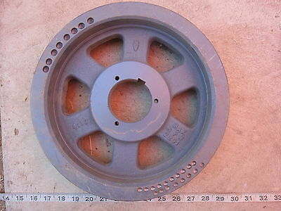 """Browning 4B 5V 110 11¼"""" OD, 2¾"""" BD, ⅝""""P, 4 Groove Pulley, Used"""