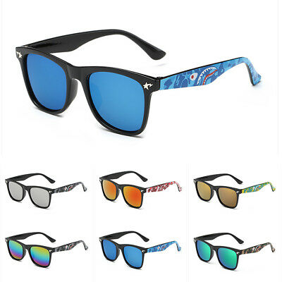 Fashion Kids Eyewear Sunglasses Boys Girls Students Star Sharks Goggles Family y