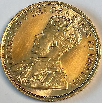 1912 CANADA $5.00 Gold Coin - High Quality Scans #C855