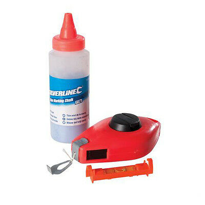 3-Piece IIT 76010 Chalk Reel and Level