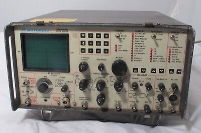 Motorola R2008D/HS Communications System Analyzer Service Monitor