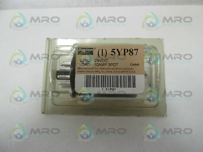 Dayton 5Yp87 Relay *new In Original Package*
