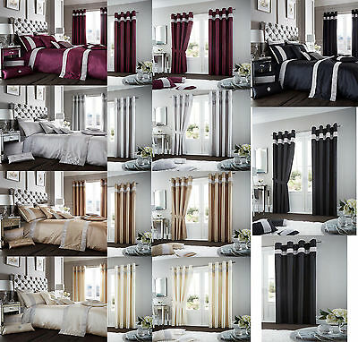 Oxy Diamante Luxurious Duvet Cover Sets / Curtains / Cushion Covers / Door Panel