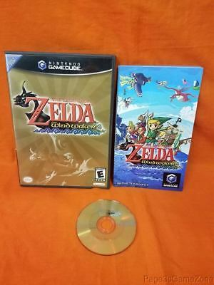 Nintendo Gamecube The Legend of Zelda The Wind Waker Disc Complete w/Box&Manual