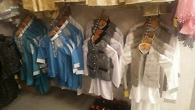 New Boys Kurta Sherwani SUIT (3 pcs) 1 to 13 YRS