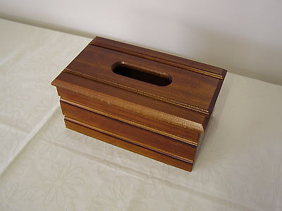 New Tissue Box Cover/wooden/timber