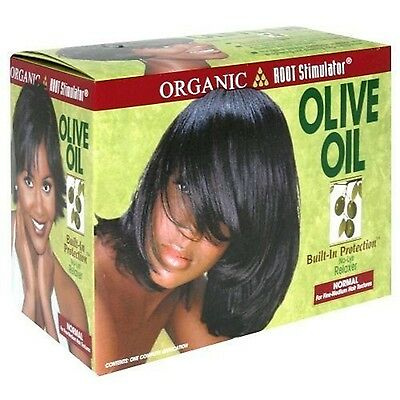 *NEW* ORS Organic Roots Olive Oil Hair Relaxer No Lye - NORMAL