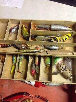 Tackle Box Of  Broken And Damaged Lures