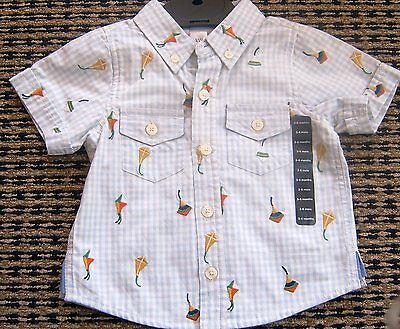 Gap Baby Boys Shirt Sz 3 - 6 Months New With Tags