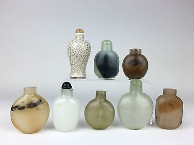 Lot of 19th C Chinese Snuff Bottles