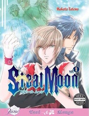 Steel Moon Volumes 1-2 (Yaoi Manga)
