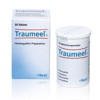 Traumeel S*50tabs. - Natural Anti Inflammatory Tablets, Homeopathic Product