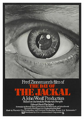 The Day of the Jackal (1973) - A2 POSTER ***LATEST BUY 1 GET 1 FREE OFFER***