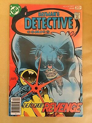 DC Batman Detective Comics # 474 - Very Fine - First new Deadshot