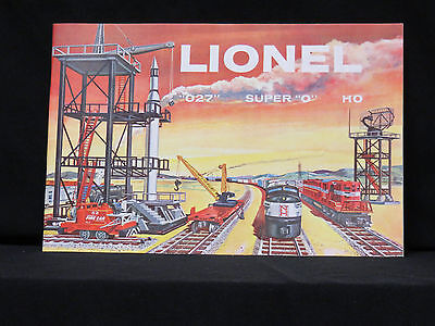 1958 Lionel Trains New Consumer Catalog Mint Rare Hard To Find