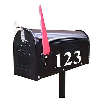 Street Address Mailbox Number Pick One Only Vinyl Decal Stickers White