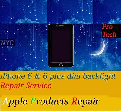 iPhone 6 & 6+ Backlight and Dim Light Repair Micro Soldering Fast By Pro Tech
