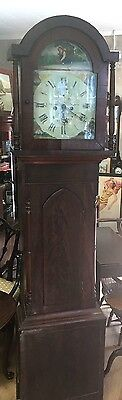 Antique Late 18Th C Tall Case Clock Grandfather Clock
