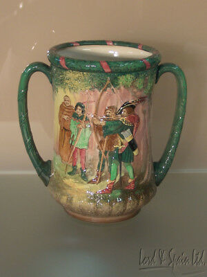 Royal Doulton Ltd Edition ROBIN HOOD Loving Cup With Certificate-1938