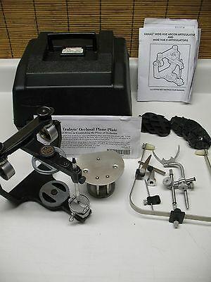 Hanau Wide-Vue I I Semi Adjustable Dental Articulator / Earbow  Direct Mounting