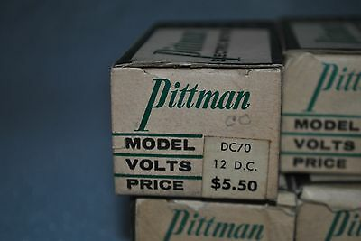 Pittman DC-70 12volt DC Electric Motor  NOS
