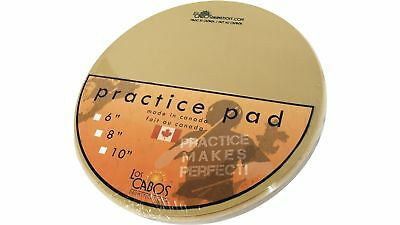 "Los Cabos 8"" Drum Practice Pad w/ Gum Rubber Surface"