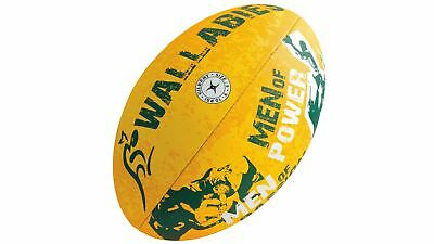 Gilbert Wallabies Supporter Rugby Union Ball Play as Professional Player
