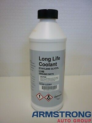 New Genuine Nissan Long Life Green Coolant 1 Litre Bottle 10120-LLC001