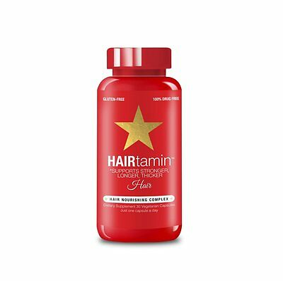 Hairtamin - Healthier Stronger Longer Hair Thickener - All Natural - 1 Month
