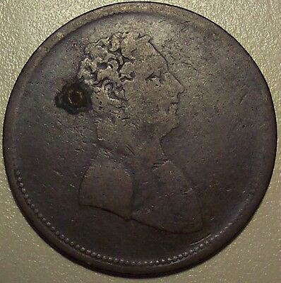 1825 Lower Canada Salaberry - To Facilitate Trade Token - Closed Sleeve