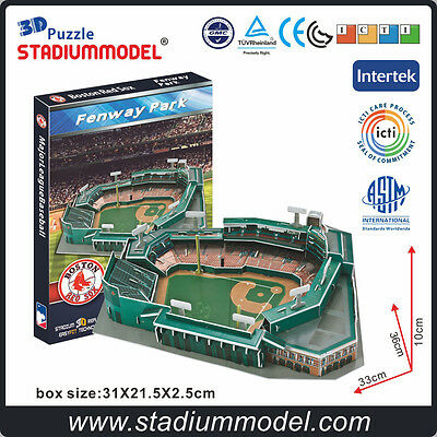 MajorLeagueBaseball MLB Boston Red Sox Fenway Park baseball 3D Puzzle Stadium