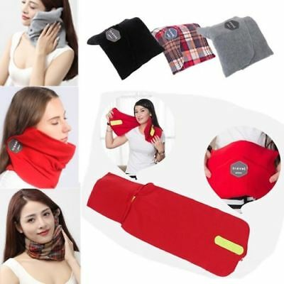 Unisex Travel Pillow Portable Scientifically Proven Super Soft Neck Support New