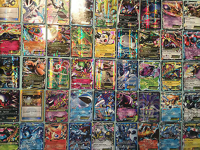 Pokemon Card TCG Random 10 Card Lot Bundle Rare Ultra Rare EX Full Art