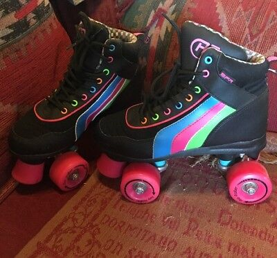 Sfr Roller Skates Rio Roller Great Condition Size U.K. 4 Eur 38